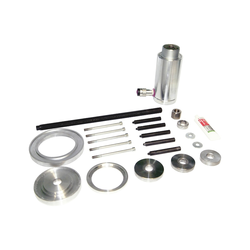 Jeu principal d'outils pour roulement de roue de Ford Transit, avec vérin hydraulique Ford - 6