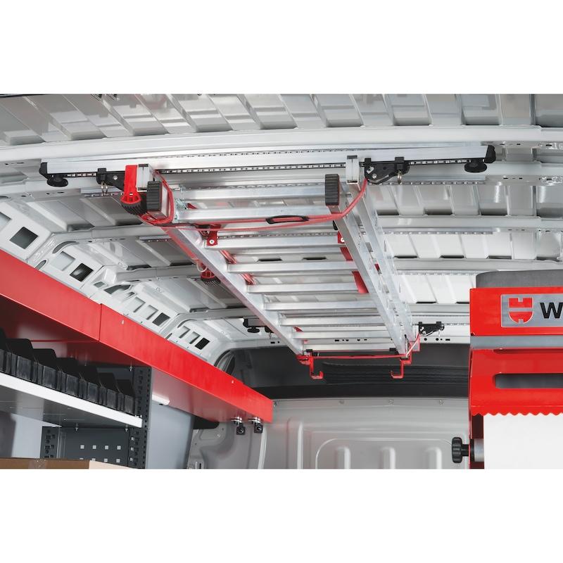 Bagażnik dachowy wewnętrzny do długich elementów - LOADSEC-SET-LONGGOODS-INTERIOR-28PIC
