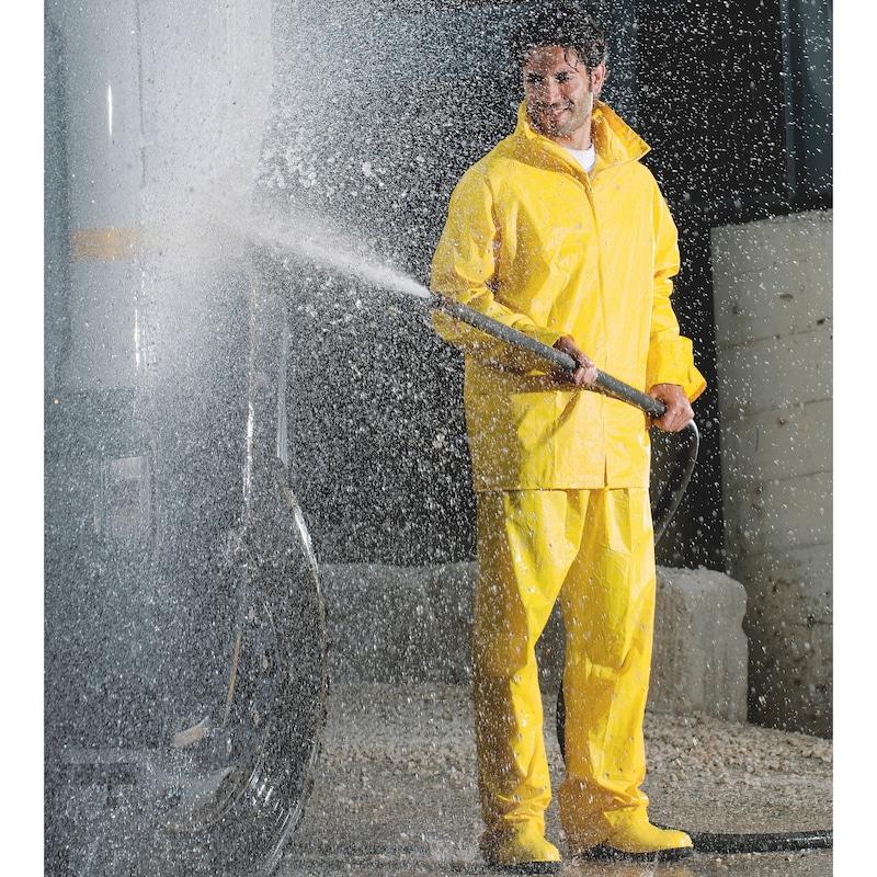 Wetterschutz Regen-Set - REGENSET EN 343 BAU GELB 3XL