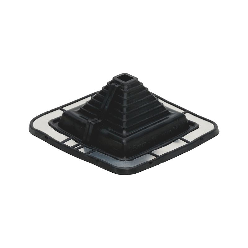 Rohrmanschette Quadrat