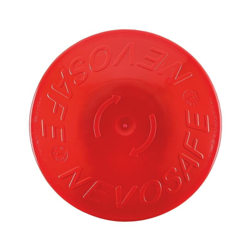 Capuchon de protection avec insert en acier  - PROTECTION PIQUETS FER Ø 6-20