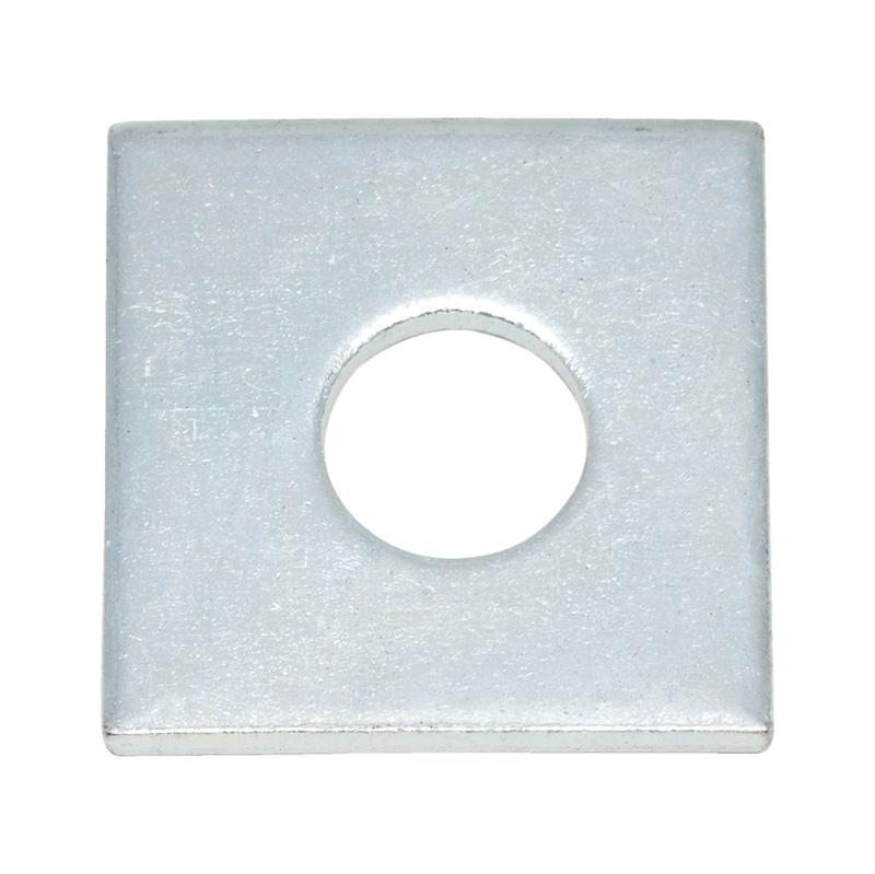 Scheibe, vierkant - 1