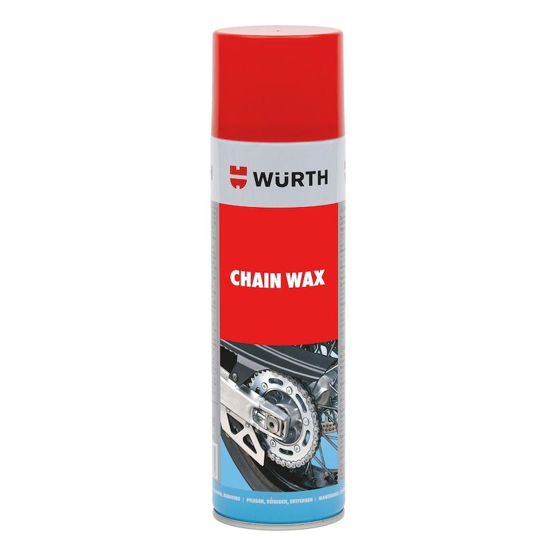 Spray pour chaîne à base de cire