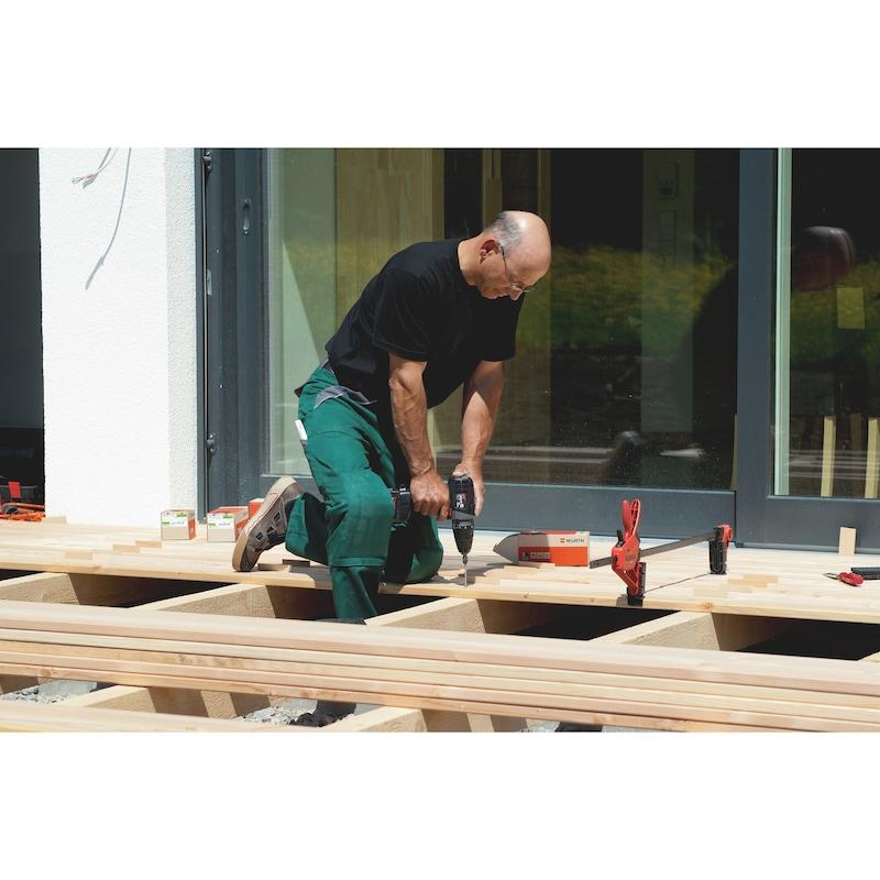 ASSY spéciale BOIS DUR A2 Vis à bois pour terrasse en seau de 1000 pièces - 3