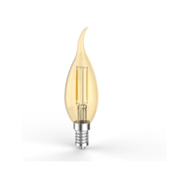 Filament à LED E14, B35/F35-FILAMENT - LAMP LED FILA. E14 2W 2200K 180LM DO