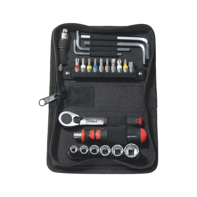 Caisse à outils calendrier de l'avent 24 pièces - SET OUTILLAGE CALENDRIER AVENT 24PCS