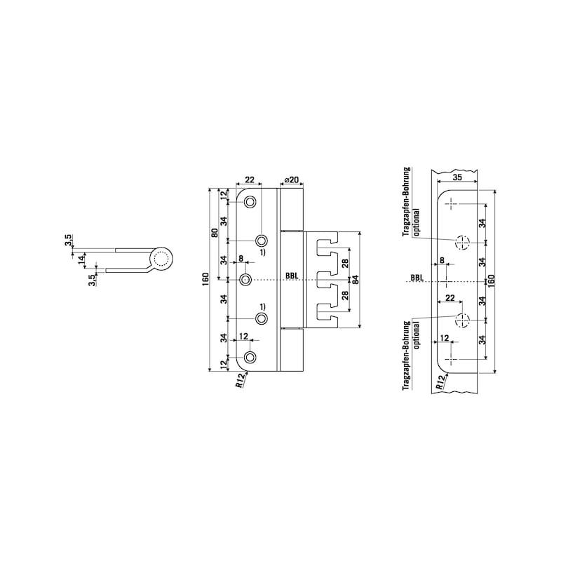 Objektband OBX 20-9277/160 - 2