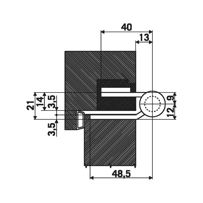 Objektband OBX 20-9277/160 - OBJBA-(OBX-20-9277-160-STA)-A2-MATT