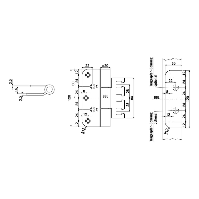 Objektband OBX 20-9277/120 - 2