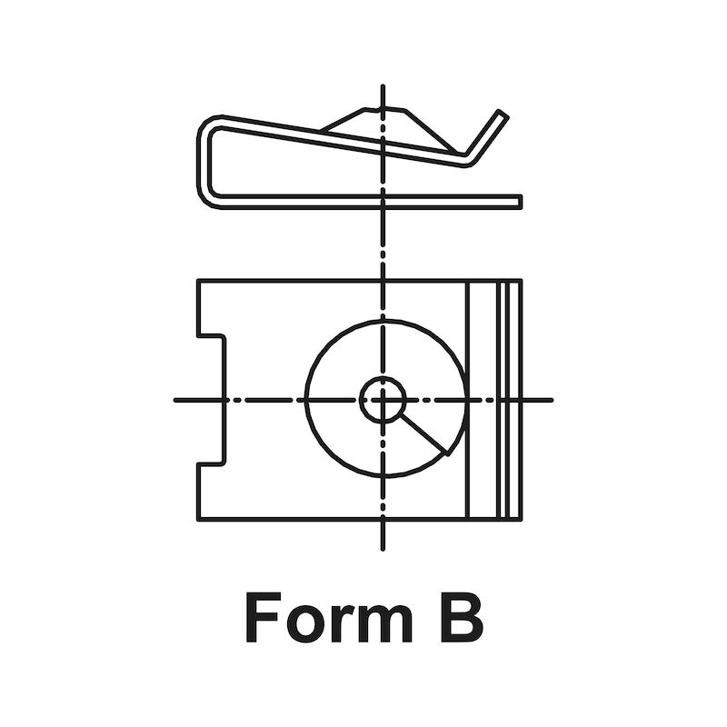 Sac somun, tip 3 - BMW-SAC VİDA SOMUNU MET.(A3A)15,5/D4,2MM