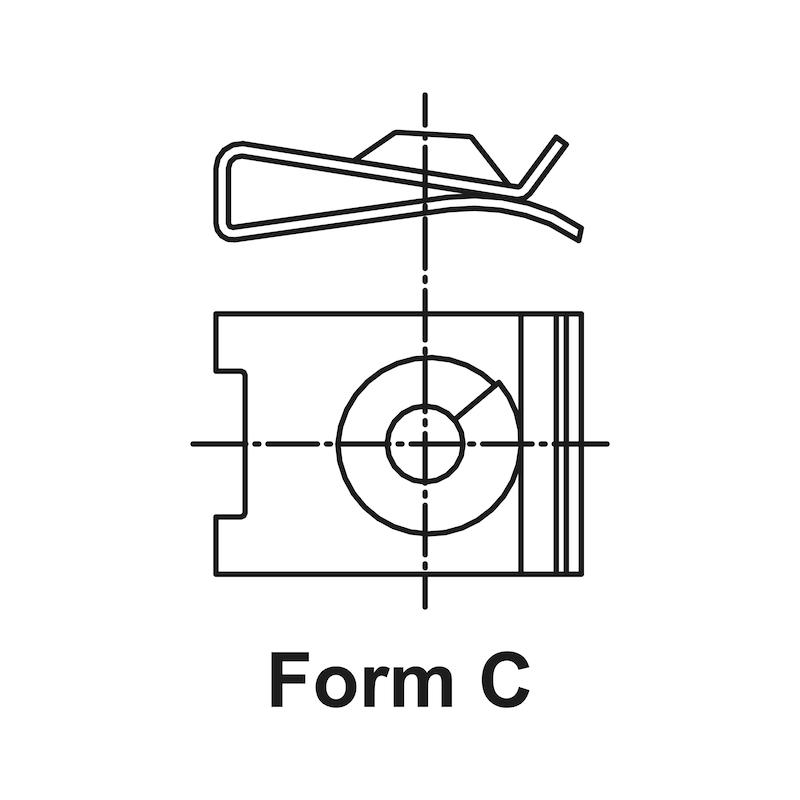 Ecrou à tôle Type5 - 2