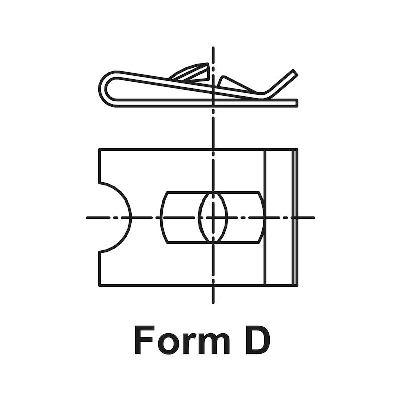 Ecrou à tôle Type10 - 2