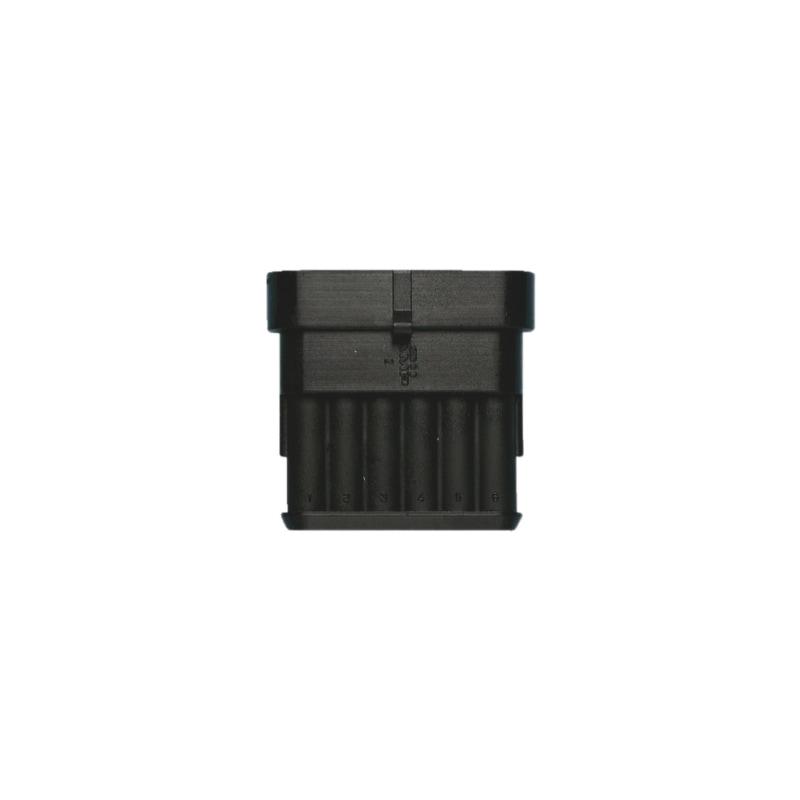Waterproof pin housing - PINHSNG-WTRPROF-6COMT