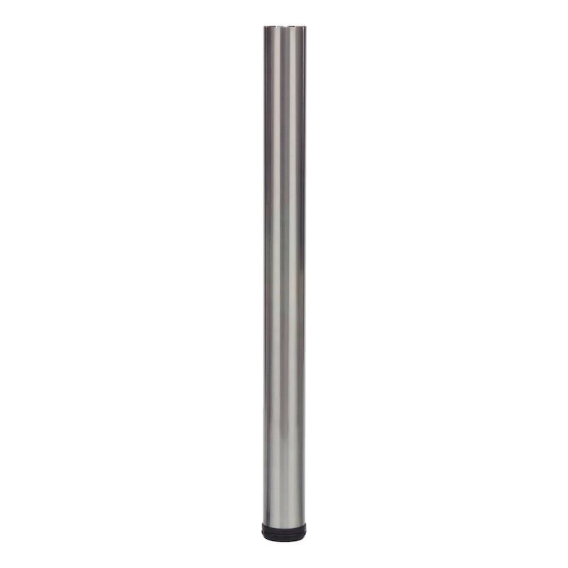 Tischbein - TIBEIN-GLAS-ST-A2/FINISH-D60-(370-400MM)
