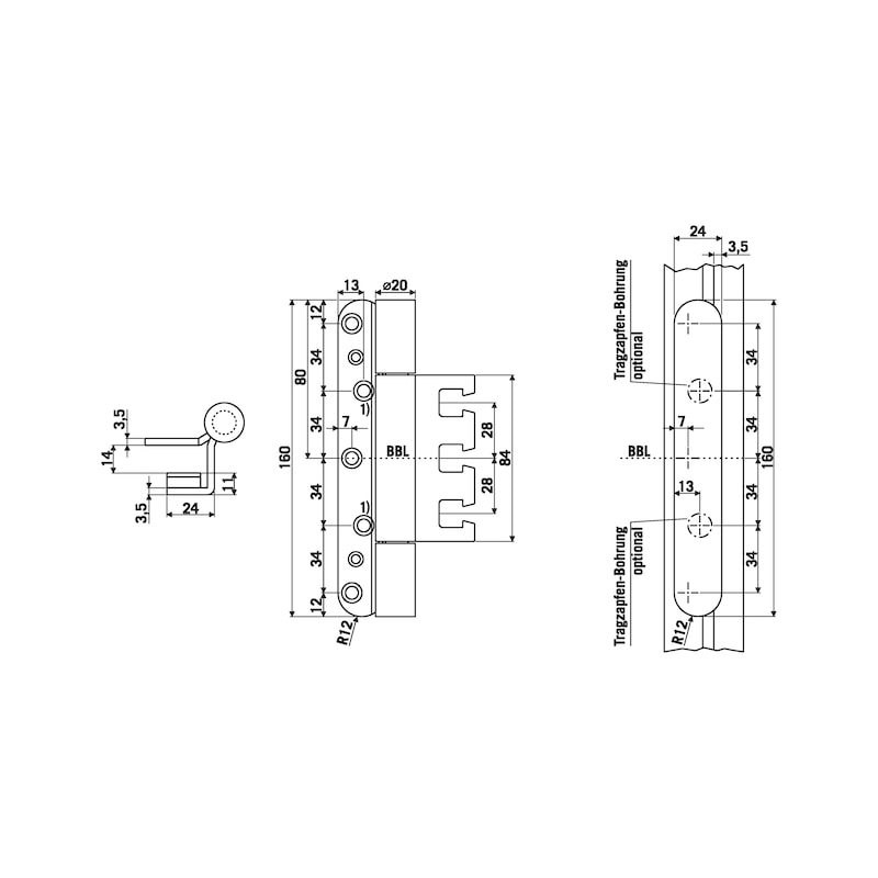 Objektband OBX 20-9397/160 - 2