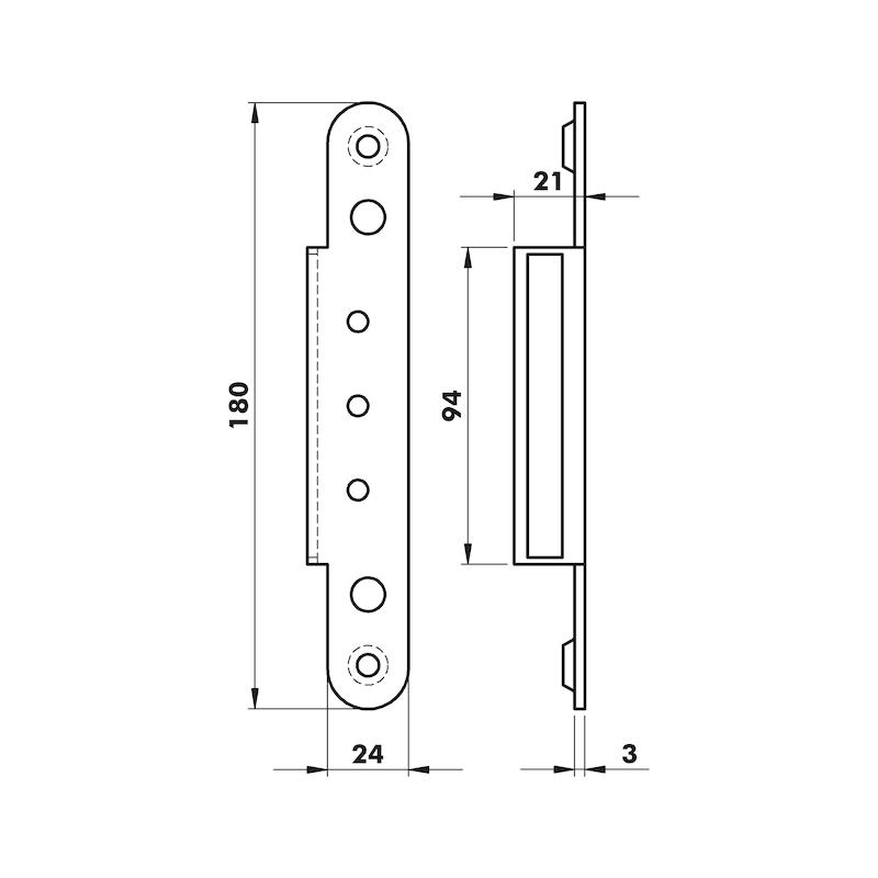 Abdeckwinkel OBX-3000 KR - 2