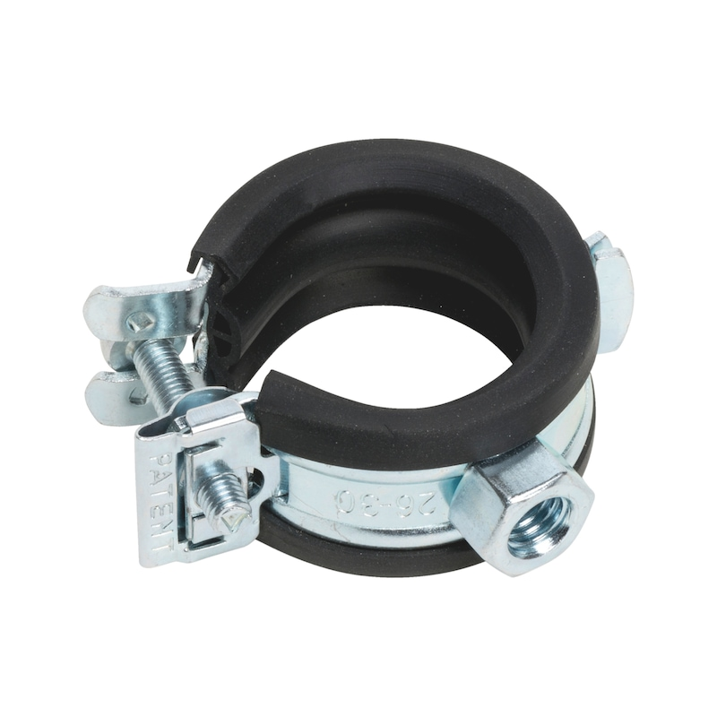Pipe clamp TIPP<SUP>®</SUP> Smartlock GS - PIPCLMP-(SMARTLOCK)-M8-(62-65)