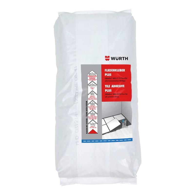 Fliesenkleber PLUS CERAfix<SUP>®</SUP> 402 C2 TE Flex - 1