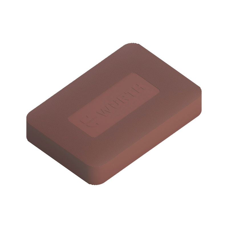 Mounting block - ASBMYBLOCK-BROWN-10,0MM-L40MM