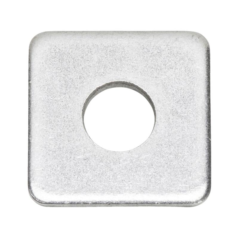 Scheibe, vierkant - SHB-4KT-DIN436-11X30X3