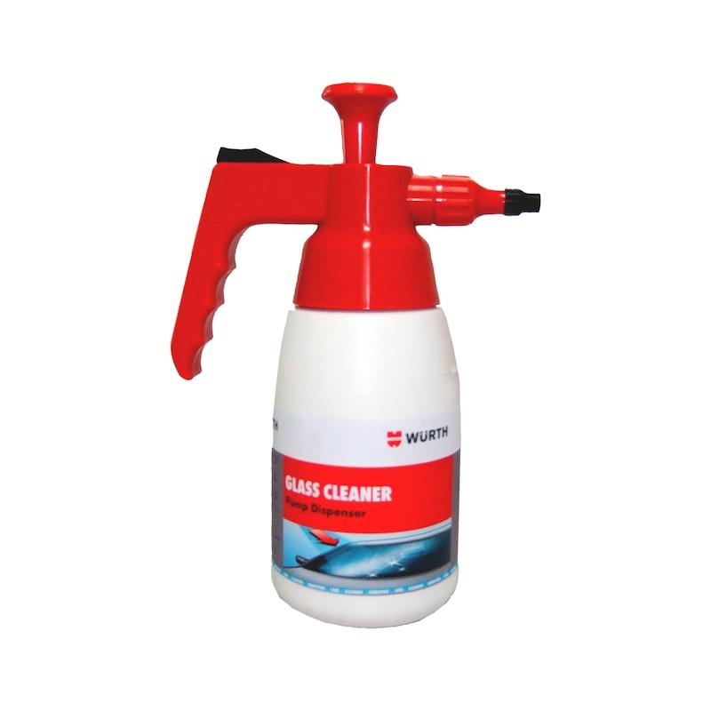 Product-specific pump spray bottle Unfilled - PMPSPRBTL-EMPTY-GLASSCLEANER-1LTR