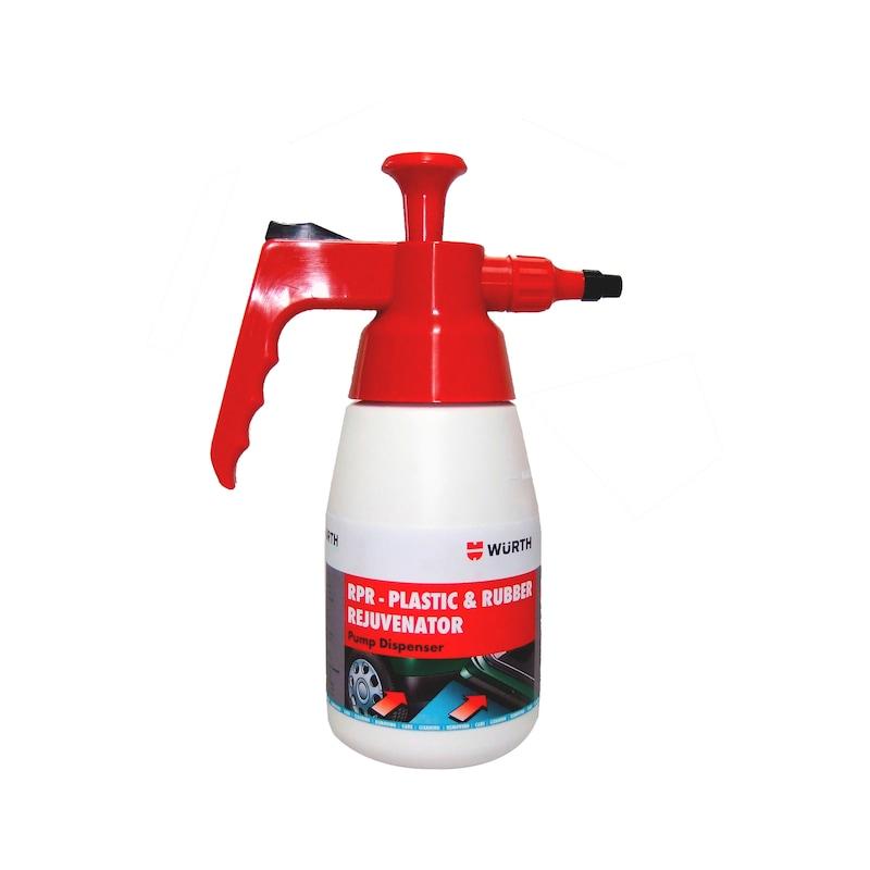 Product-specific pump spray bottle Unfilled - PMPSPRBTL-EMPTY-RPR-1LTR