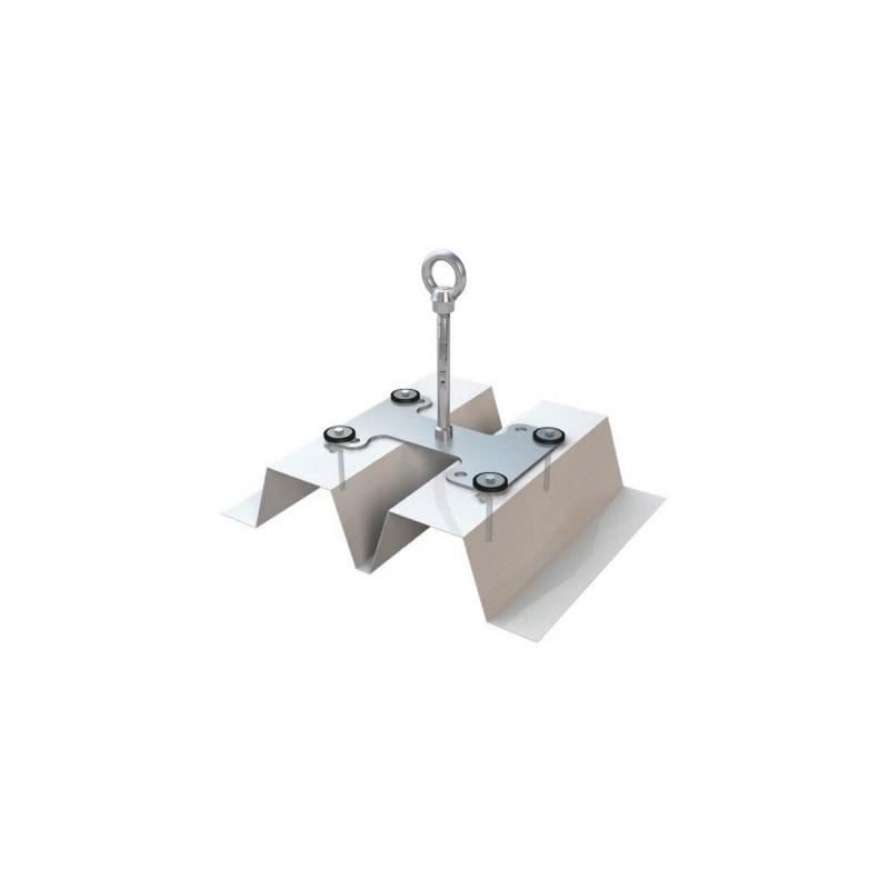 Anschlagpunkt ABS Lock X Trapez 21 - ANSHLGPKT-TRAPEZ-SR(LX-T-300-21-SR)300MM