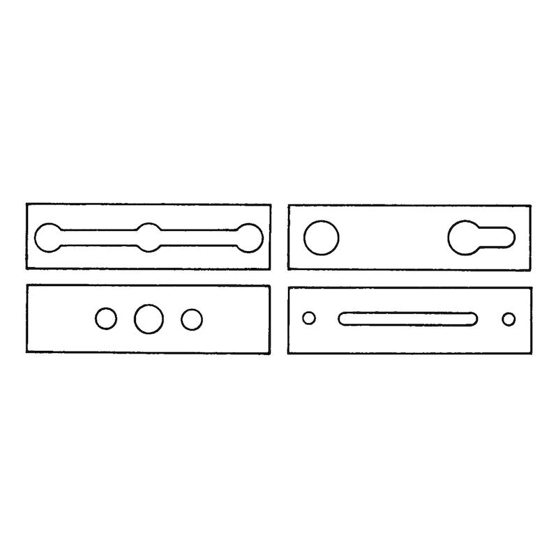 Fraise pour aluminium et PVC - 3