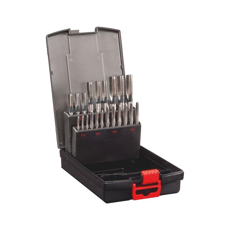 Handgewindebohrer-Kassette HSS DIN 352