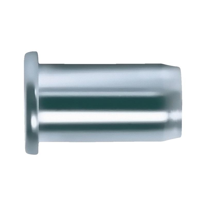 リベットナット、丸なべ頭付き - ナットサート替玉M8 0.5-3.0 ナベ AL