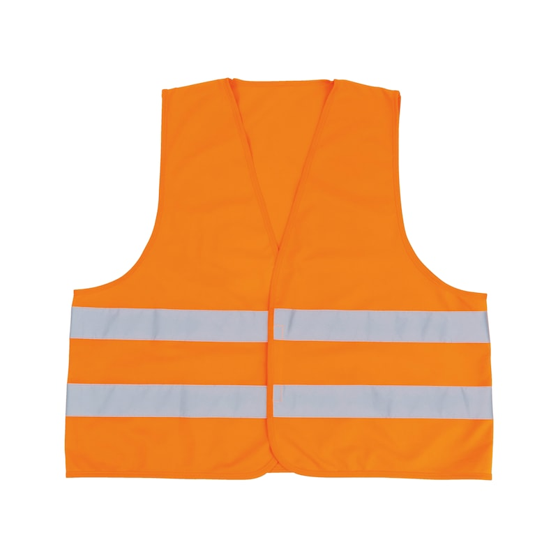 High-vis vest  - HIVISVEST-ORANGE-ISO20471-XL