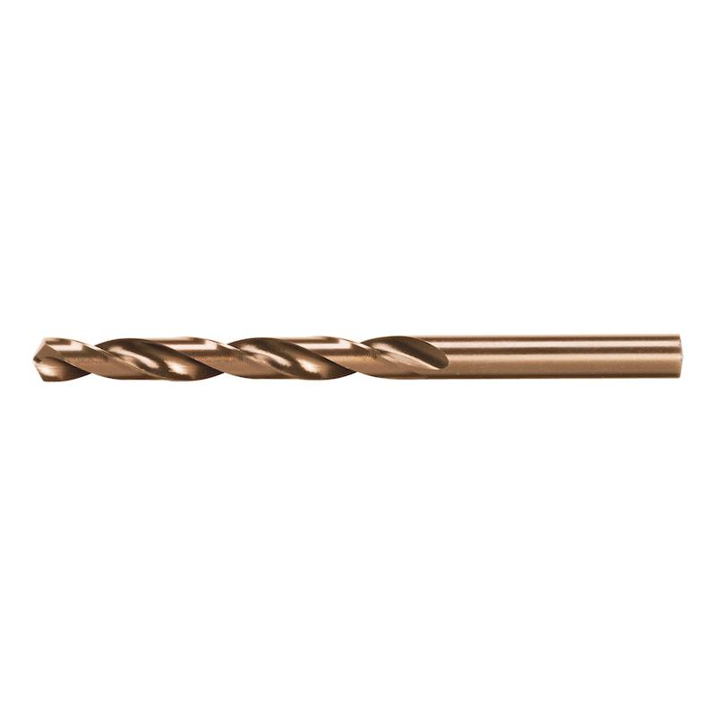Twist drill bit HSCo DIN 338 type RN bronze tipped