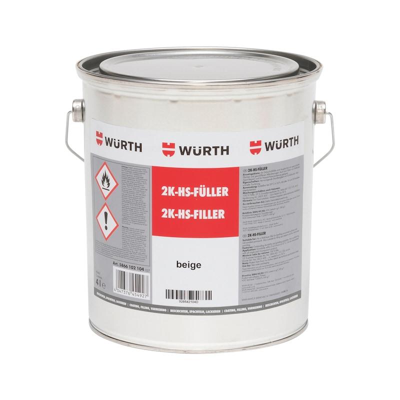 Apprêt garnissant acrylique HS bicomposant - 1