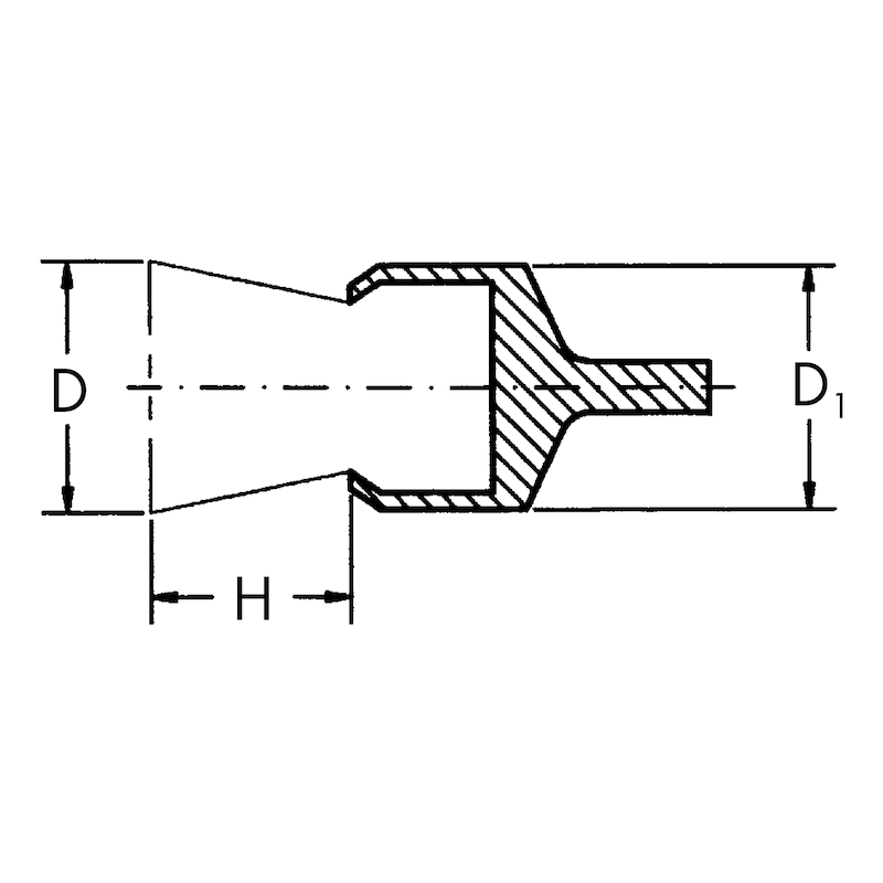 Spazzola a pennello con gambo - 2