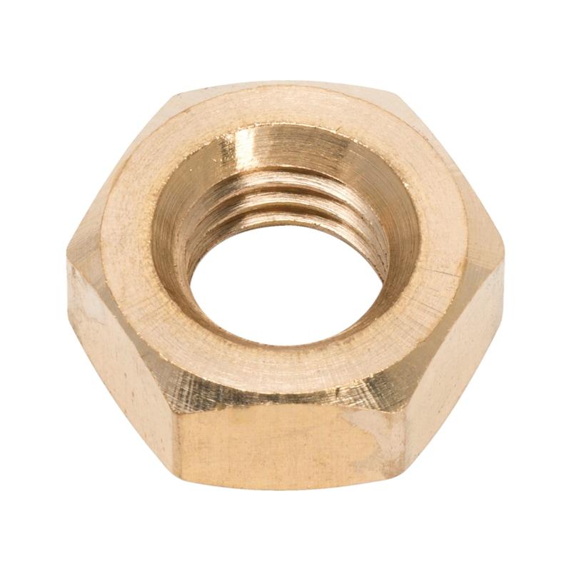 六角ナット - 真鍮六角ナット M10