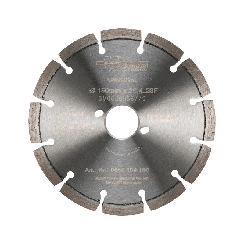 Disque diamant, découpeuse de joints - 1