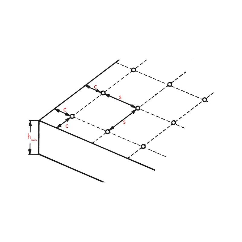 Cheville d'ancrage avec vis à tête hexagonale W-HA - 2