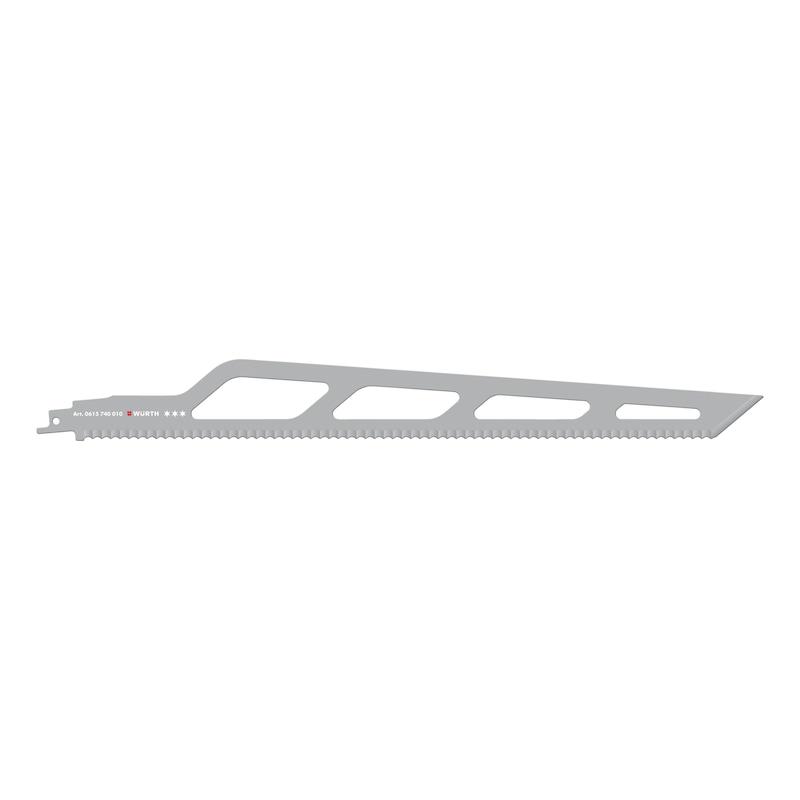 断熱材用セーバーソーブレード - 断熱材用セイバーソーブレード 400MM (1枚入リ)