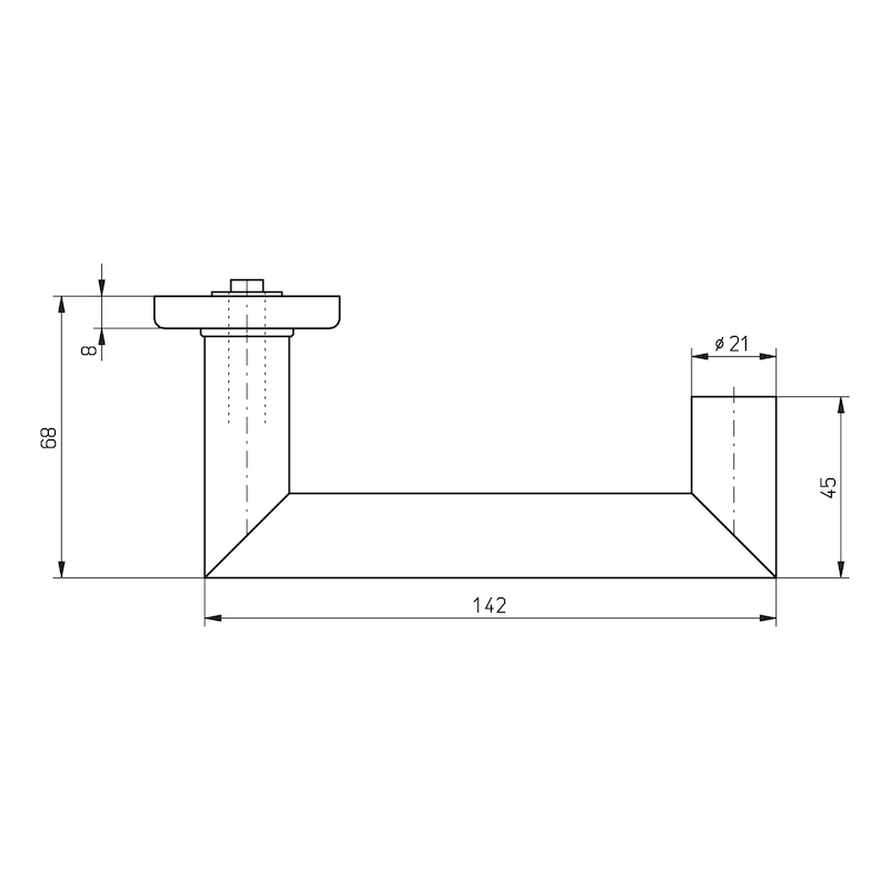 Türdrücker  A 507 - 2