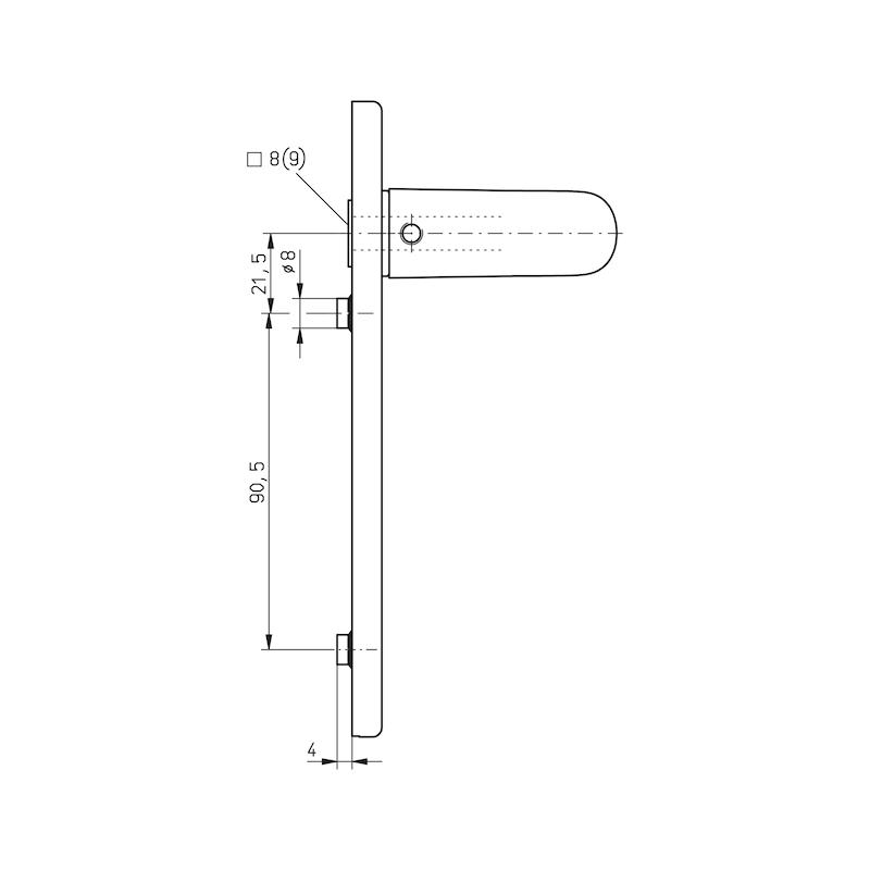 Türdrücker A 510  - 3