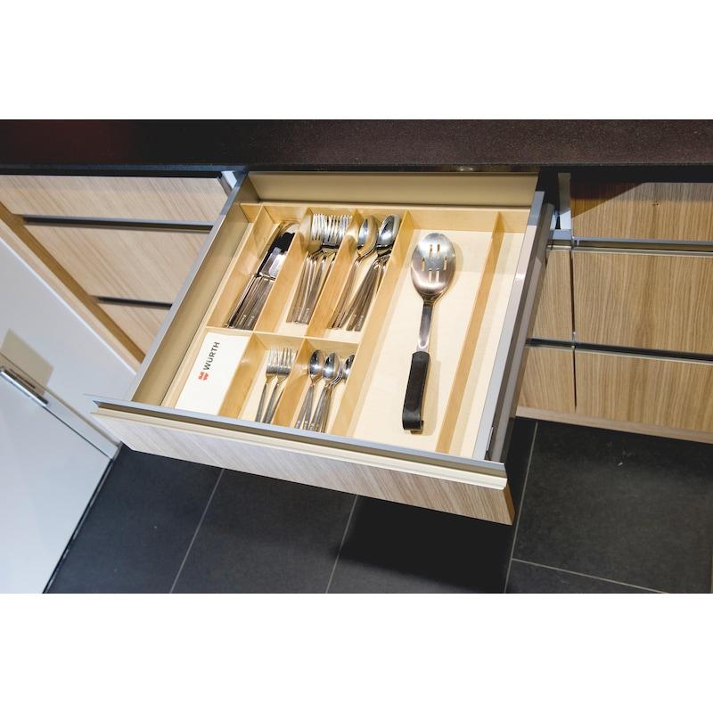 Besteckeinsatz Holz - 2