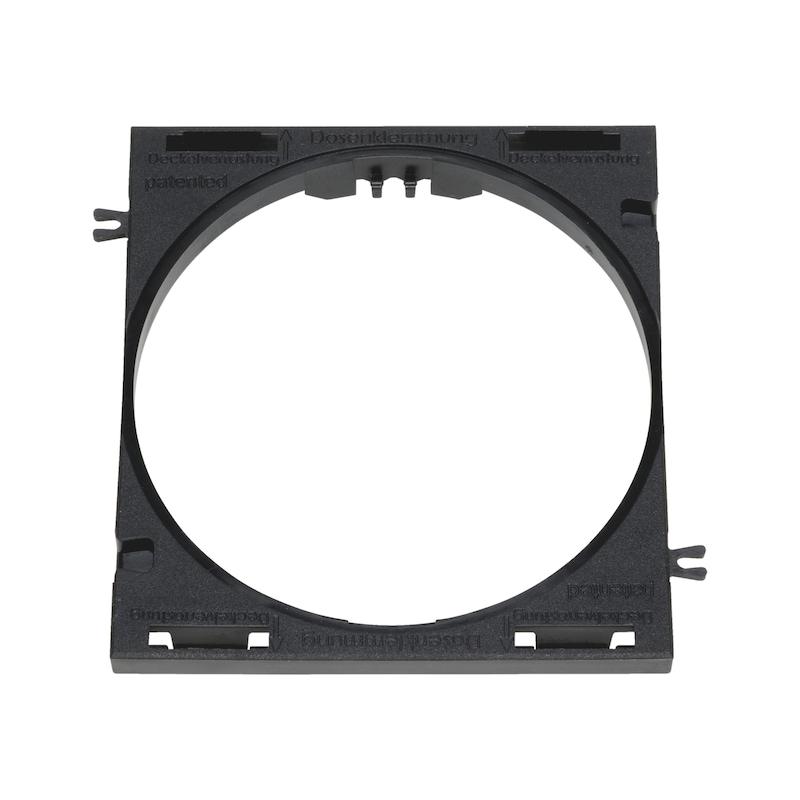 Hohlwanddosen-Adapter für Brüstungskanal BR 80 - 2