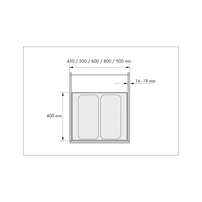 Sistema per la raccolta differenziata VS ENVI Flex e VS ENVI Flex Pro - 3