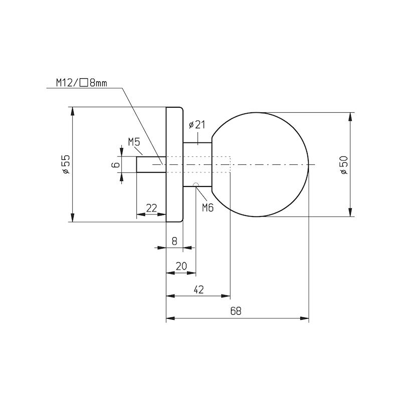 Door knob Type B - 2