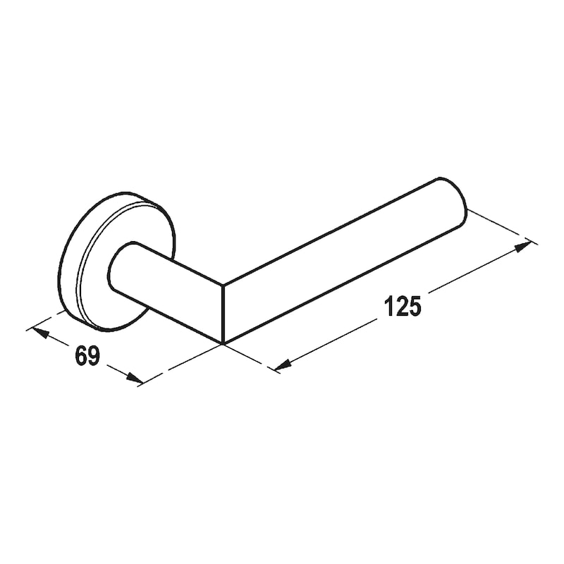 Türdrücker  A 205 - 2