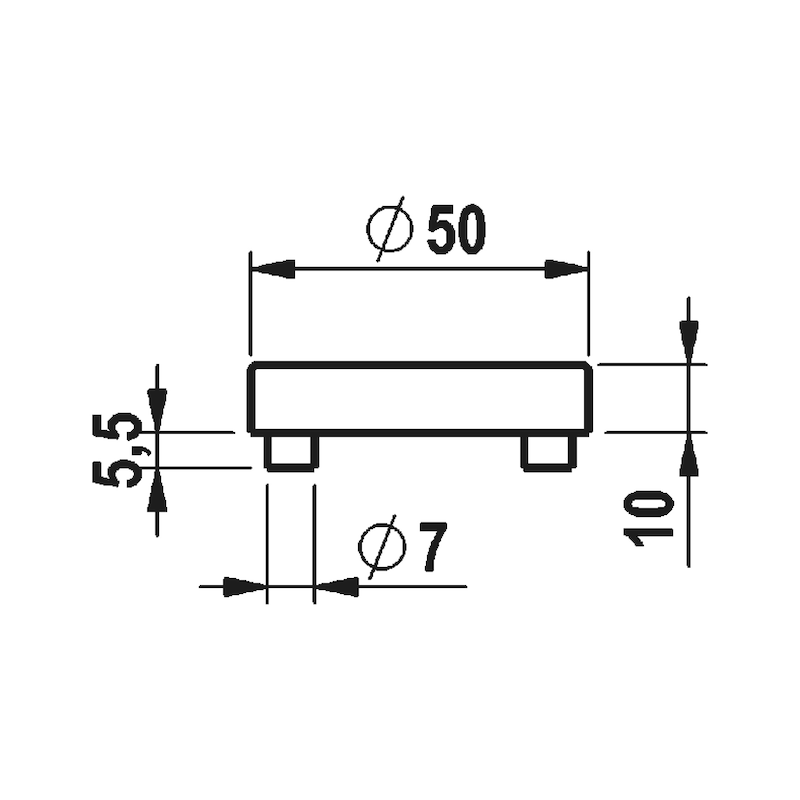 Türdrücker  A 207 - 4