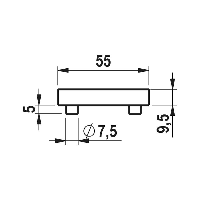 Türdrücker A 413 - 3