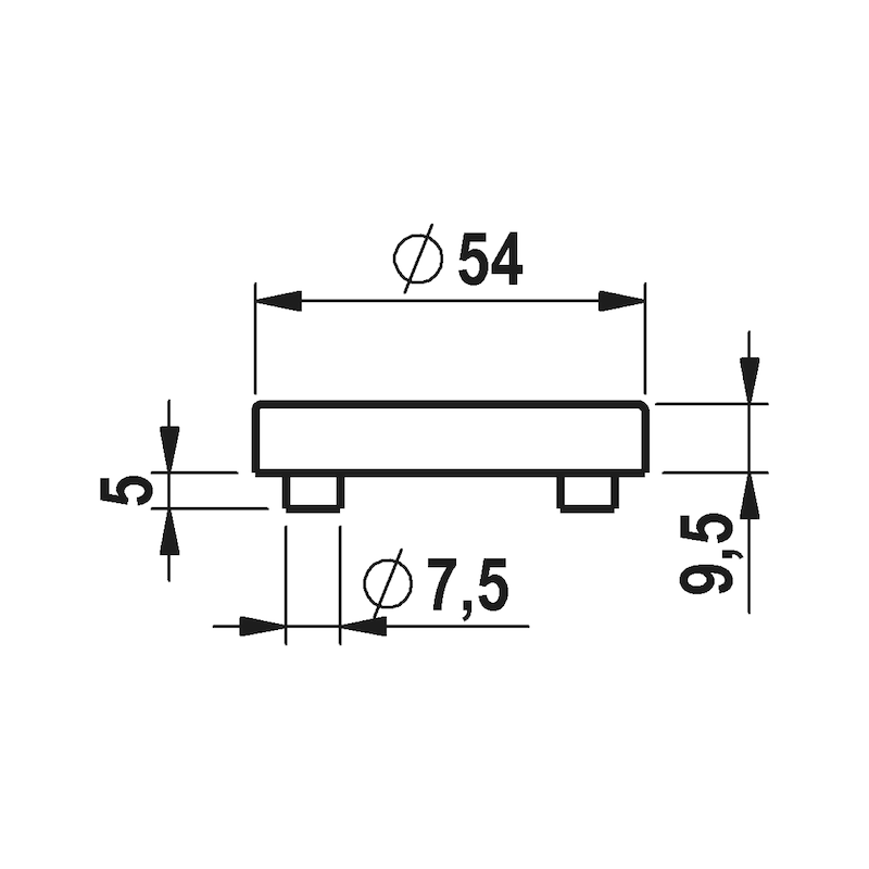 Türdrücker A 114 - 4