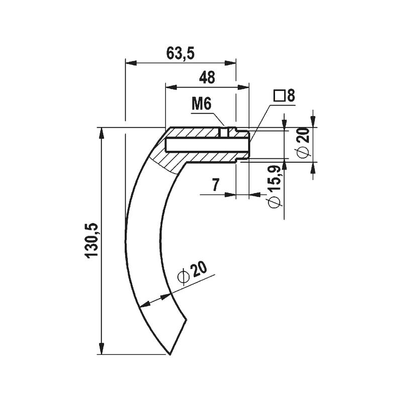 Türdrücker A 115 - 3