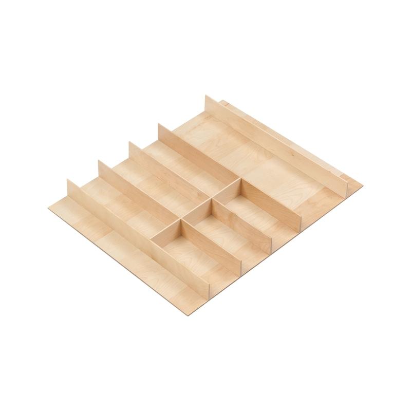 Besteckeinsatz Holz - 1